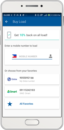 Buy Load Online and Send Load to Anyone Instantly | Coins ph