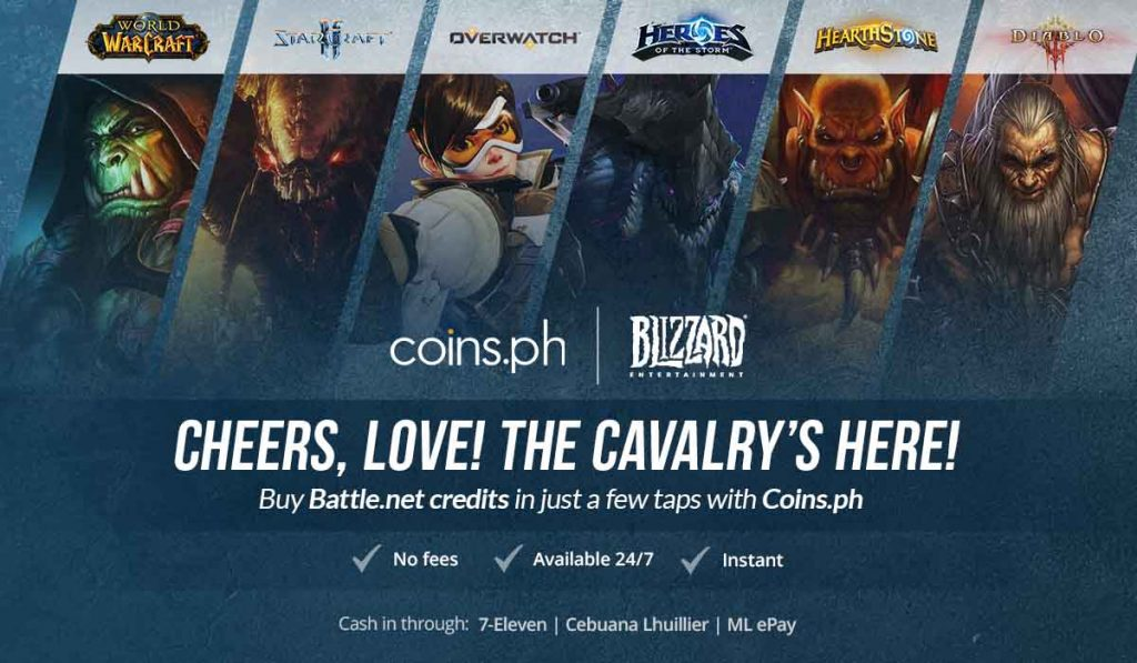 Game Credits: Learn how to redeem Battle net codes | Coins ph
