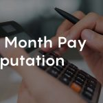 how to compute 13th month pay