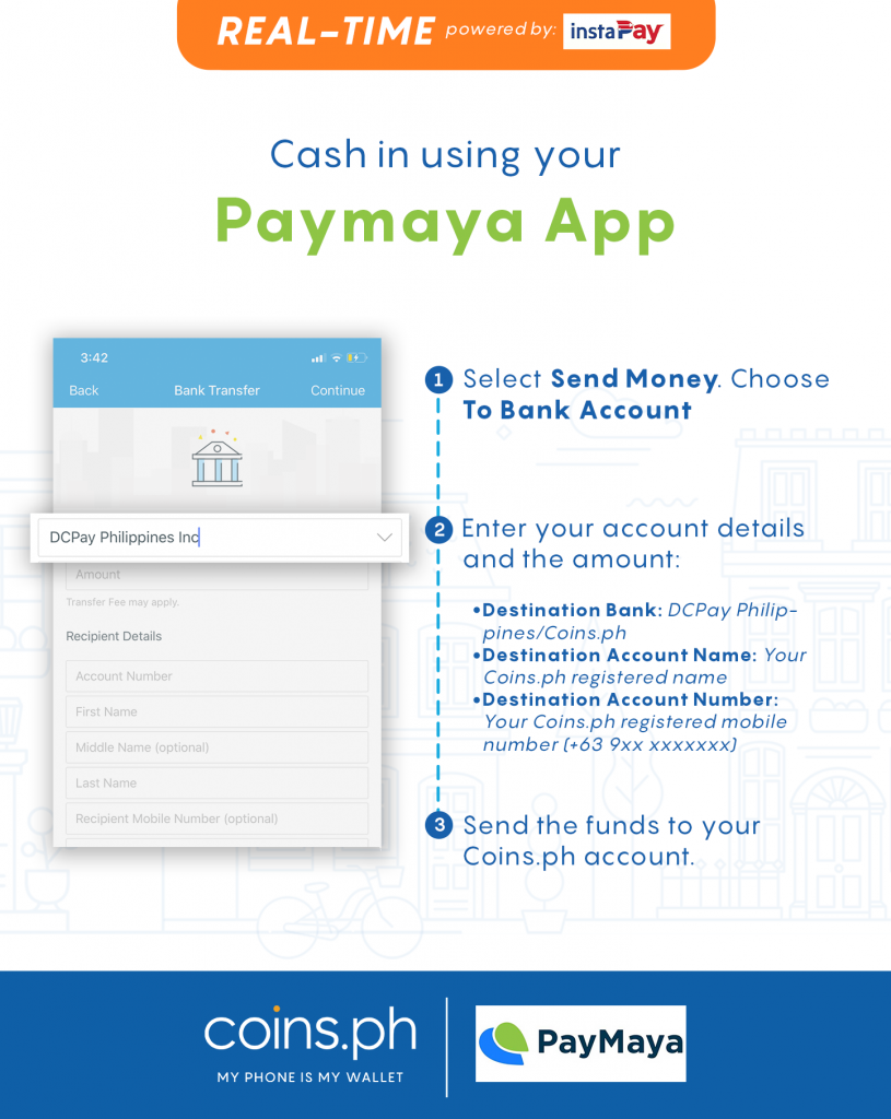 Cash In Online: How to Cash In Online to Coins.ph Wallet | Coins.ph